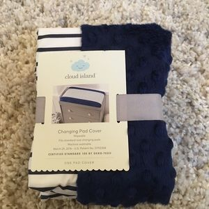 Cloud Island changing pad cover NEW